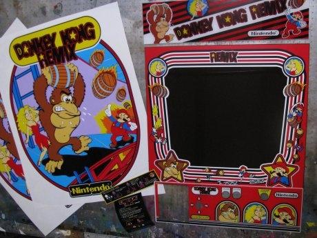 Donkey Kong REMix Art Kit