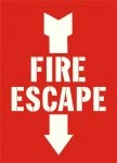 Fire Escape Stencil