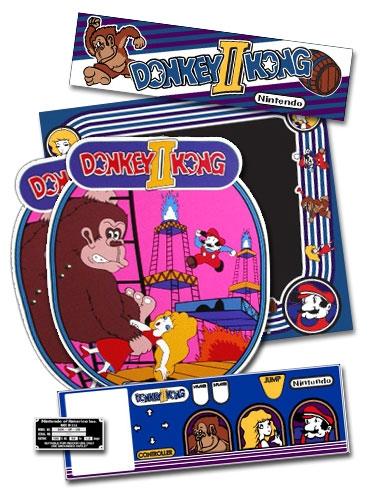 D2K Donkey Kong II Printed Full art Package