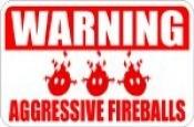 Fireballs Signage
