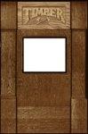 Timber Full Kickplate