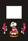 BurgerTime Printed Kickplate