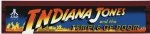 Indiana Jones Temple of Doom Translight Marquee*