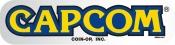 Capcom Chrome Logo Decal